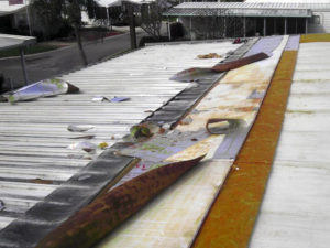 mobile home roof replacement